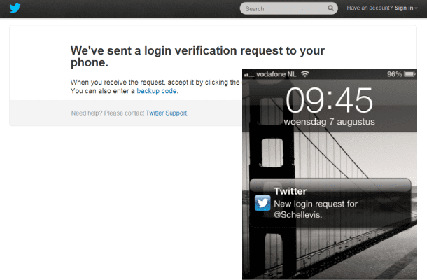 twitter two-factor-auth