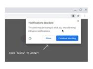Chrome 84 misleidende meldingen