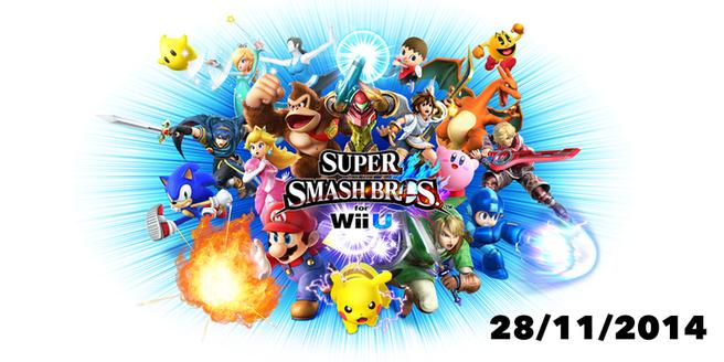 Super Smash Bros. Wii U releasedatum