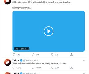 Twitter quote tweet count