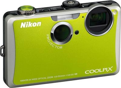 Nikon S1100pj projectorcamera