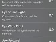 MeasureKit Facemesh op iPhone X