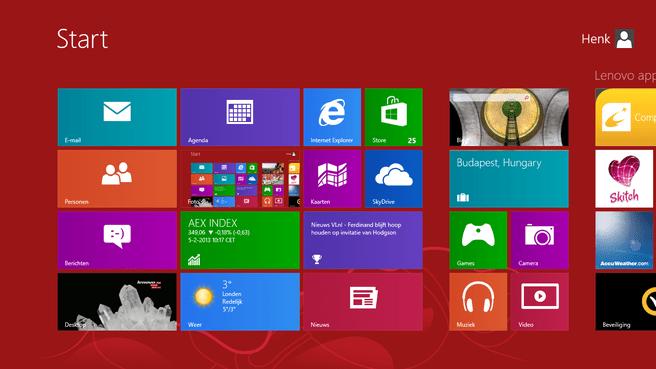 Lenovo ThinkPad Twist - screenshots