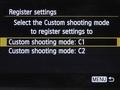 Canon EOS 6D menu