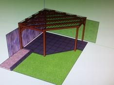 Het eerste ontwerp