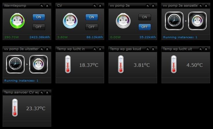 warmtepomp sensoren