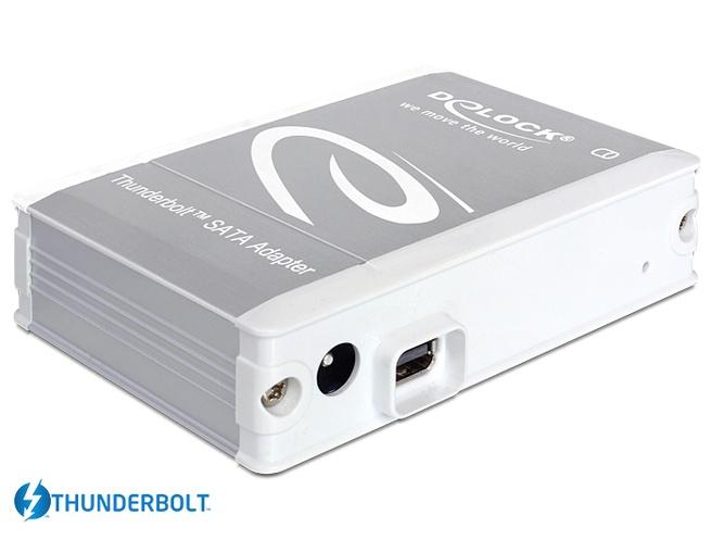 Delock Adapter Thunderbolt > SATA 22 Pin