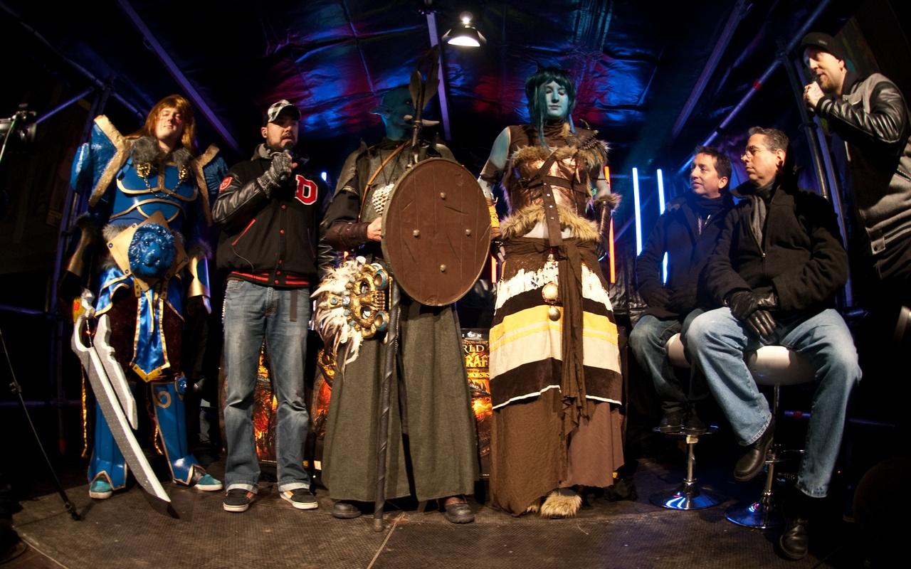 Nachtelijke lancering World of Warcraft: Cataclysm