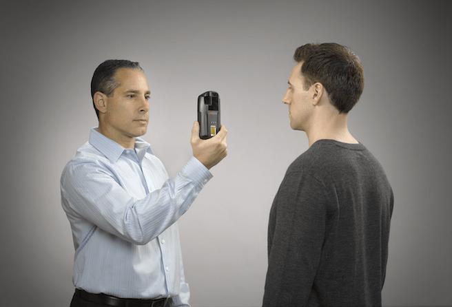 biometrisch systeem op smartphone