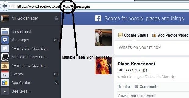 Facebook Nir multiple hash signs