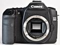 Canon Eos 50D recensie voorkant spiegel