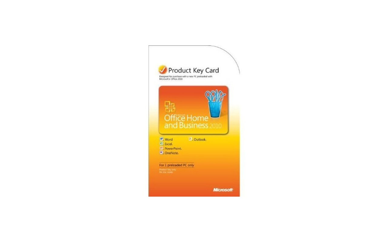Microsoft Office Home and Business 2010 PKC NL