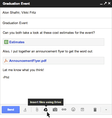 Gmail + Drive