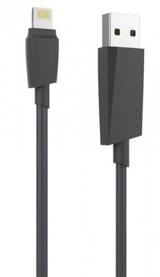 Rock M3 Lightning kabel - MFI Apple certificaat - 2m - Black