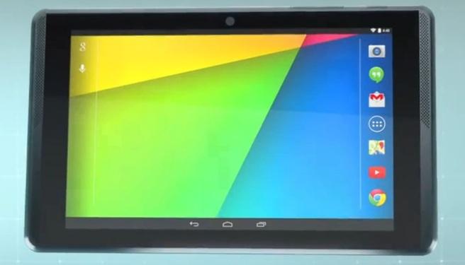 Tablet van Project Tango