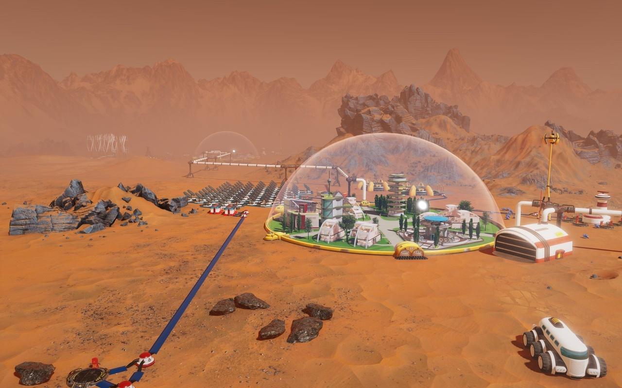 Eerste screenshots Surviving Mars