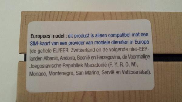 Samsung regiolock Nederland