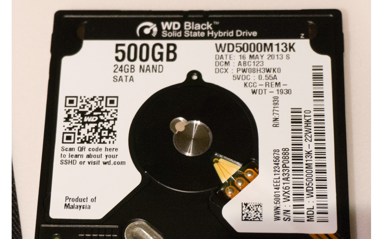 Western Digital Blue en Black