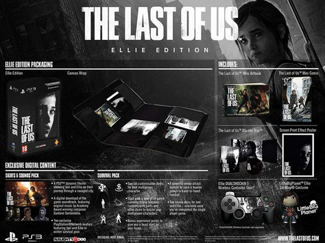 The Last Of Us Ellie Edition, PlayStation 3