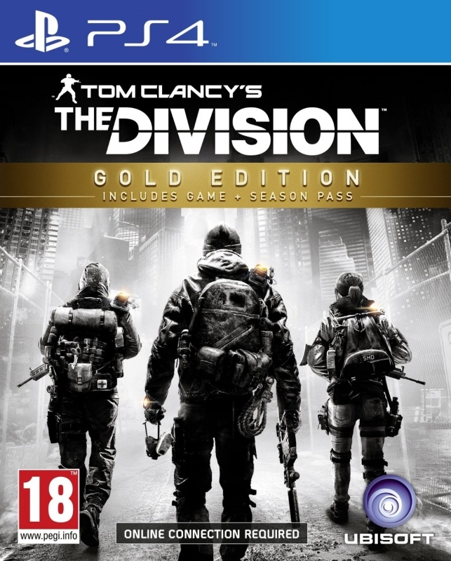 Tom Clancy's The Division Gold Edition, PlayStation 4