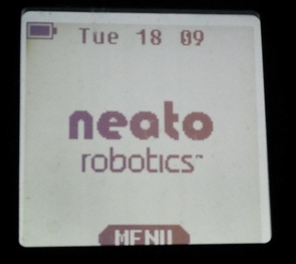 Neato geparkeerd