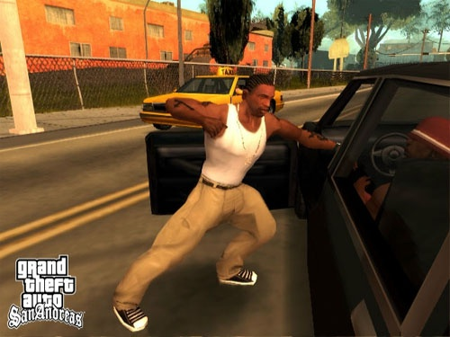 Grand Theft Auto: San Andreas: carjacking