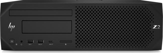 HP DWS BUNDEL Z2 SFF 6Core 3.3GHz CPU, NVIDIA P620, 32GB geheugen, 256GB SSD (4RW94EA+3ME25AT+2x3TQ39AA)