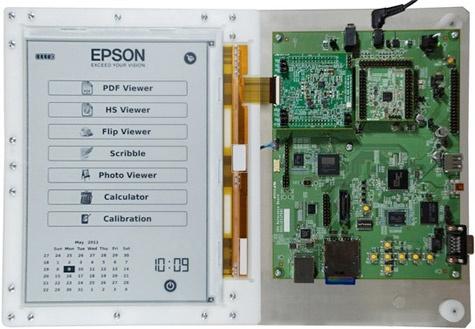 E Ink Epson e-paper 300dpi