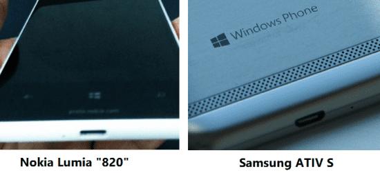 Nokia Lumia 820 uit geruchtencircuit en Samsung Ativ S