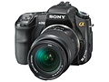 Sony DSLR-a200 voorkant