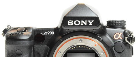 Sony Alpha A900 discontinued