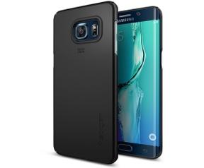 Spigen Thin Fit Samsung Galaxy S6 edge Plus Case Zwart