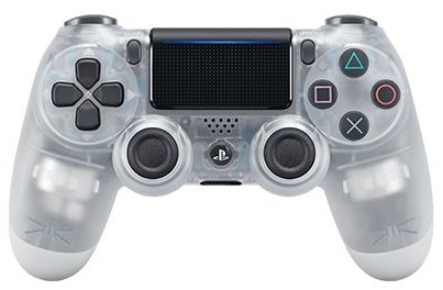 Sony PlayStation Dualshock 4 Controller Crystal Wit