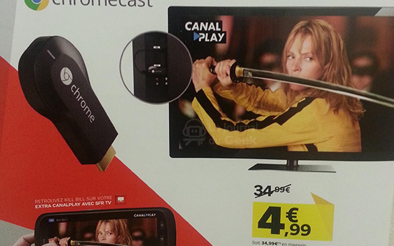 Advertentie SFR voor Chromecast