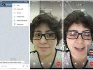 Videobellen in Telegram