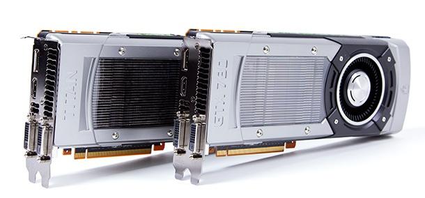 GTX 780 en Titan
