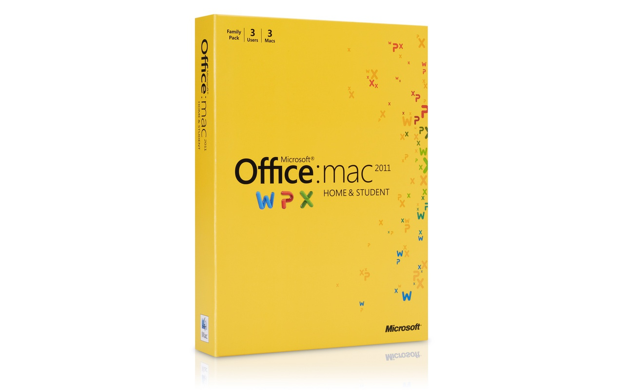 Microsoft Office for Mac Home and Student 2011 Family Pack