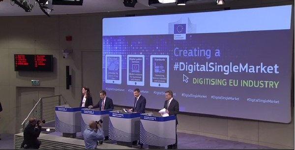Europese Commissie Digitale Markt