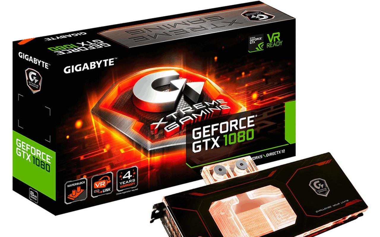 Gigabyte GTX 1080 Waterforce WB