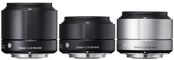 Sigma A 60mm 30mm 19mm f/2,8 DN