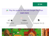 Google Play Pass screenshots