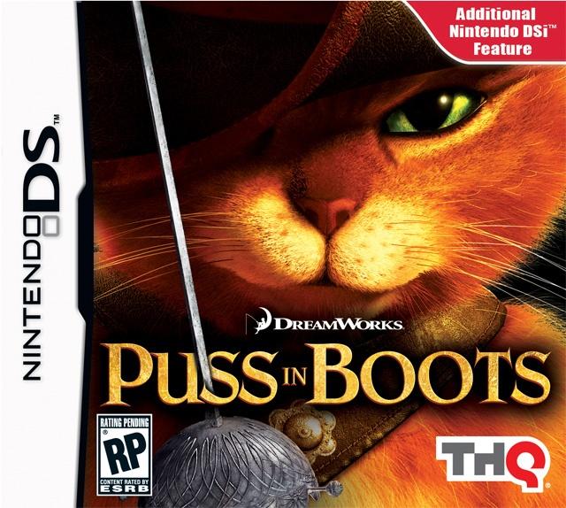 Packshot voor Puss in Boots