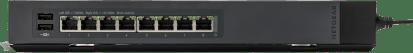 Netgear Prosafe ProSafe GSS108E Click Switch + USB Oplader