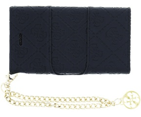 Guess Scarlett Wallet Clutch BookCase for iPhone 5/5S - Black