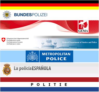 Nagemaakte politiemalware