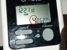 Stroomverbruik transmitter