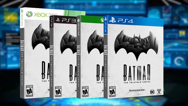 Telltale Batman retail
