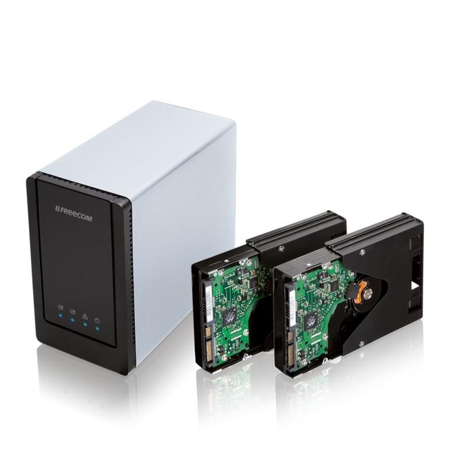 Freecom Dual Drive Network Center 3TB