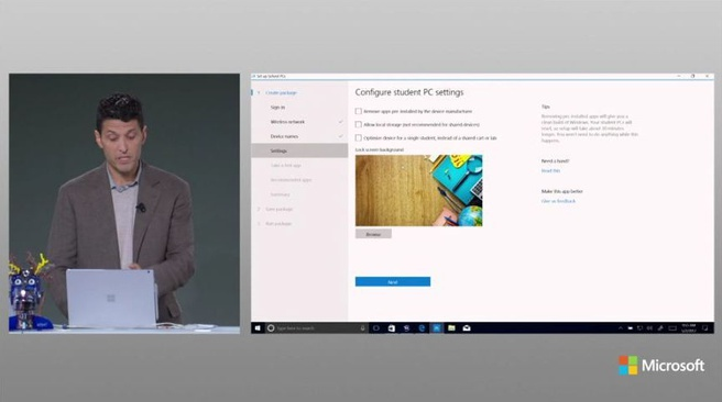 Windows 10 S presentatie 2