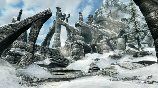 Skyrim-remaster in 4k op PlayStation 4 Pro